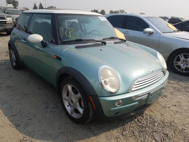 Mini salvage cars for sale: 2002 Mini Cooper