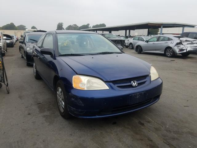 Salvage cars for sale from Copart Hayward, CA: 2003 Honda Civic LX