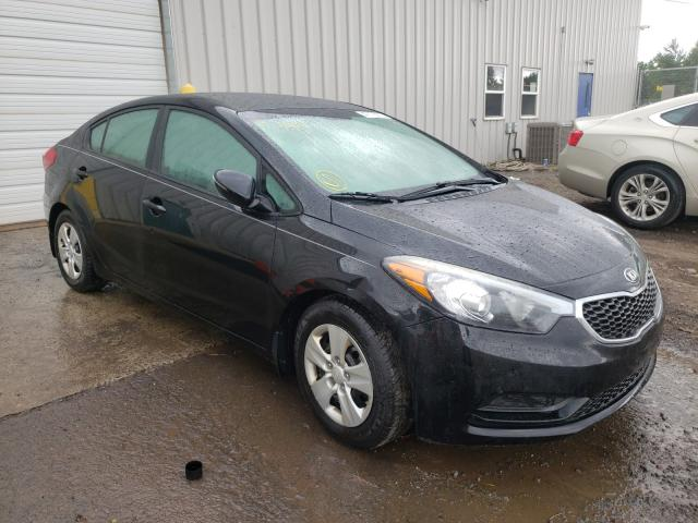 KIA salvage cars for sale: 2016 KIA Forte LX