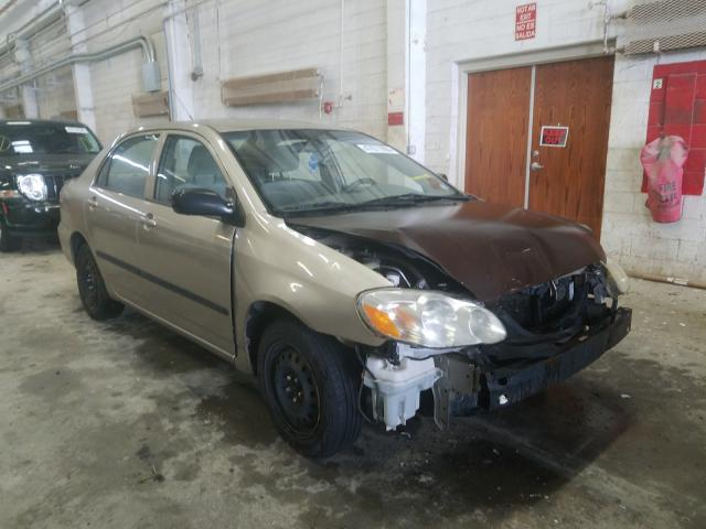 Salvage cars for sale from Copart Fredericksburg, VA: 2004 Toyota Corolla CE