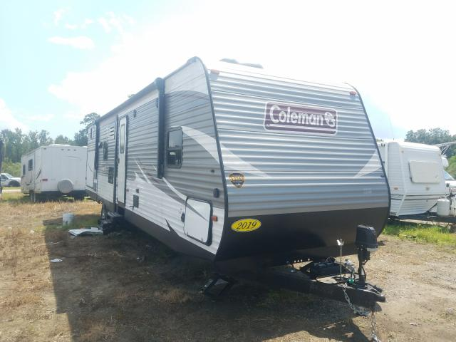 Coleman Camper salvage cars for sale: 2018 Coleman Camper