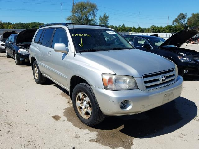 Salvage cars for sale from Copart Des Moines, IA: 2006 Toyota Highlander