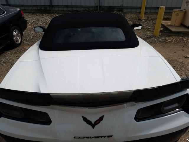 2019 Chevrolet CORVETTE   Vin: 1G1YU3D65K5600695