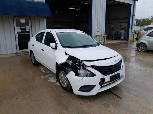 Salvage cars for sale from Copart Abilene, TX: 2016 Nissan Versa S