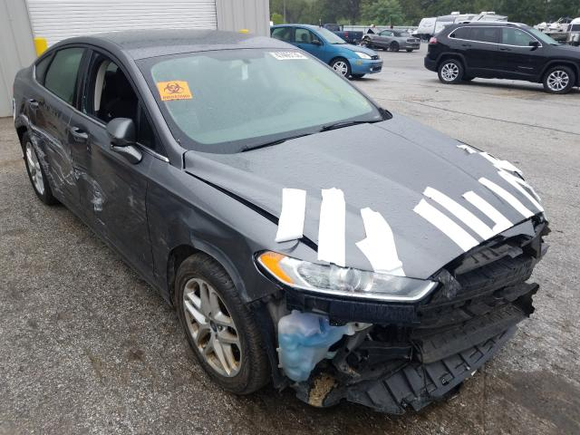 Salvage cars for sale at Rogersville, MO auction: 2014 Ford Fusion SE