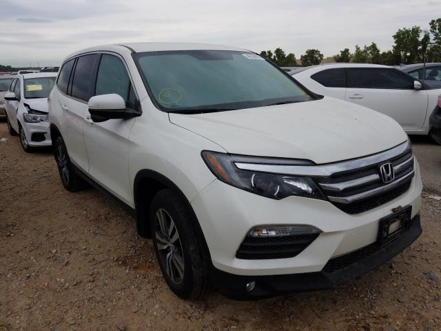Salvage cars for sale from Copart Bridgeton, MO: 2018 Honda Pilot EX