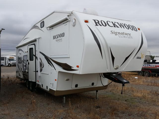 Rockwood salvage cars for sale: 2012 Rockwood Signature