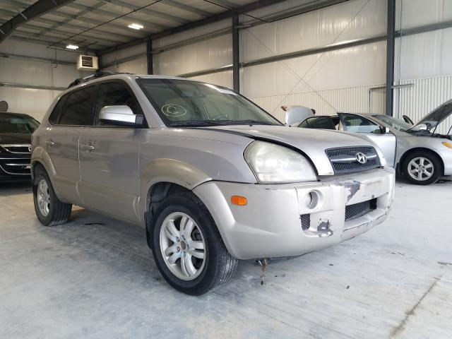 Salvage cars for sale from Copart Greenwood, NE: 2006 Hyundai Tucson GLS