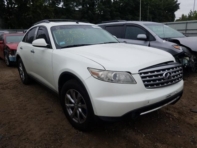 Salvage cars for sale from Copart North Billerica, MA: 2008 Infiniti FX35