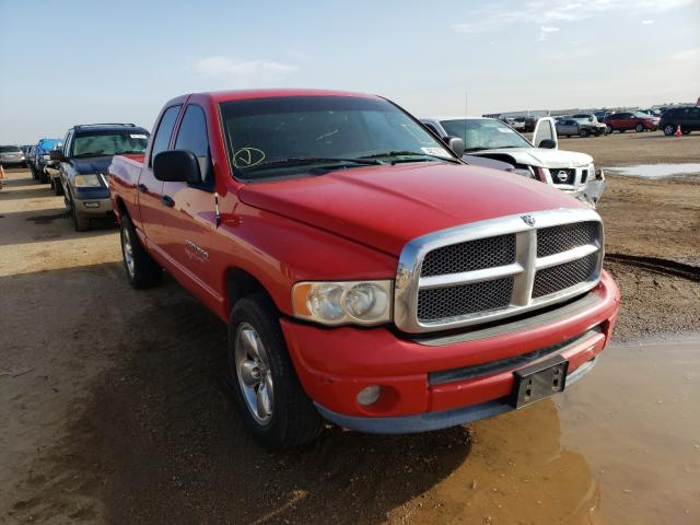 Salvage cars for sale from Copart Amarillo, TX: 2003 Dodge RAM 1500 S