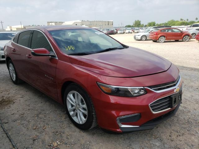 Salvage cars for sale from Copart Mercedes, TX: 2018 Chevrolet Malibu LT