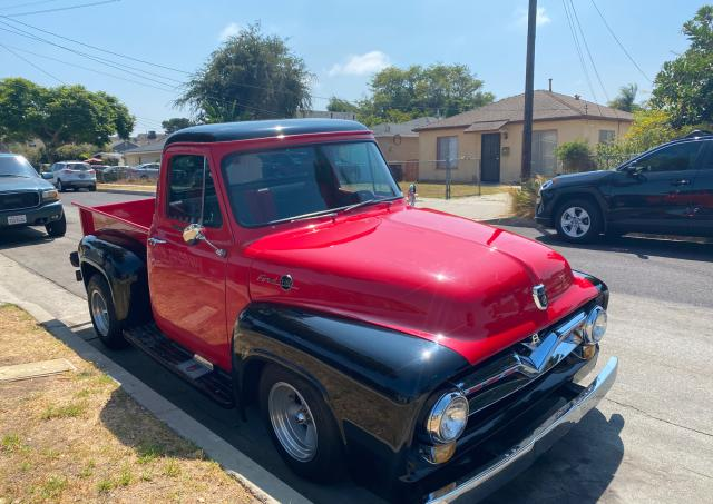 Ford F100 salvage cars for sale: 1955 Ford F100