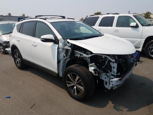 Salvage cars for sale from Copart Bakersfield, CA: 2018 Toyota Rav4 Adven