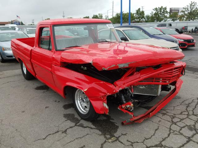Ford F100 salvage cars for sale: 1972 Ford F100