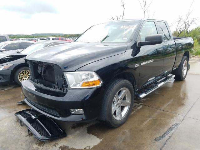 из сша 2012 Dodge Ram 1500 S 5.7L 1C6RD6FTXCS194326