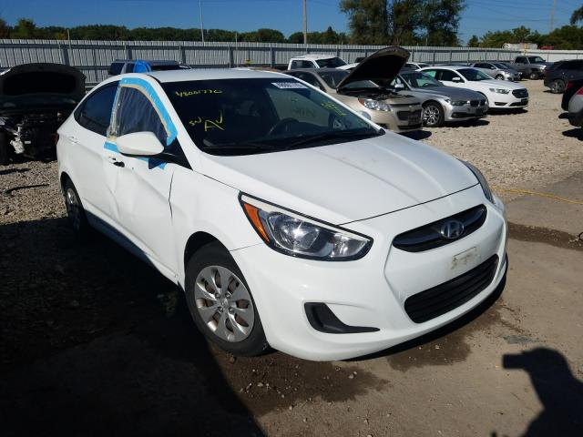 Hyundai Accent salvage cars for sale: 2015 Hyundai Accent