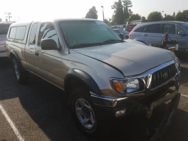 Toyota Tacoma XTR salvage cars for sale: 2001 Toyota Tacoma XTR