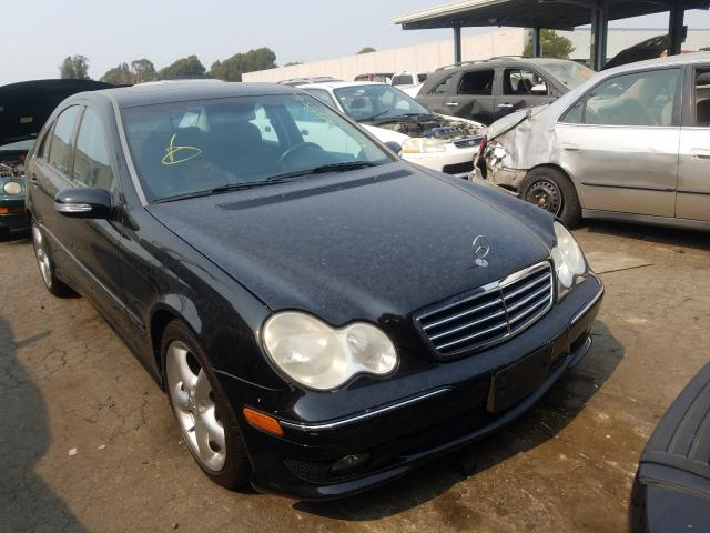 Mercedes-Benz C 230 salvage cars for sale: 2006 Mercedes-Benz C 230