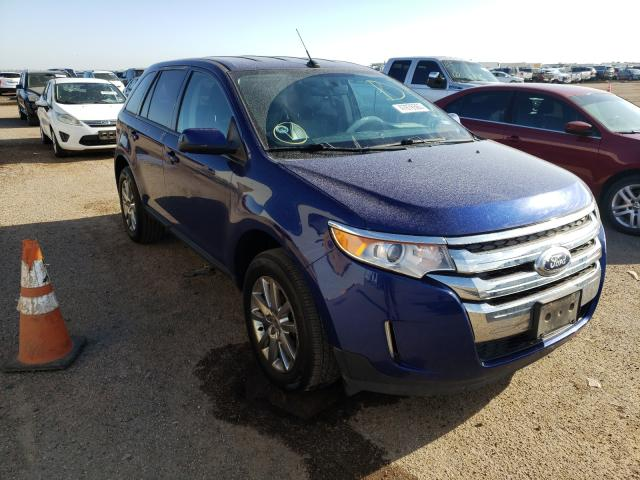 Salvage cars for sale from Copart Amarillo, TX: 2013 Ford Edge SEL