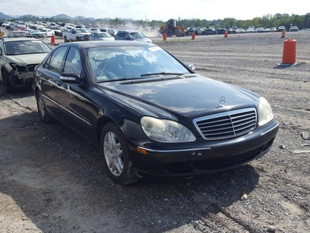 Mercedes-Benz S 430 salvage cars for sale: 2003 Mercedes-Benz S 430