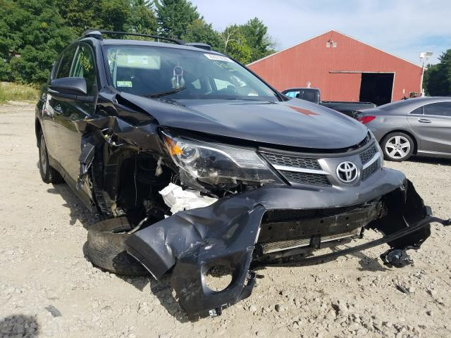 Salvage cars for sale from Copart Mendon, MA: 2015 Toyota Rav4 XLE