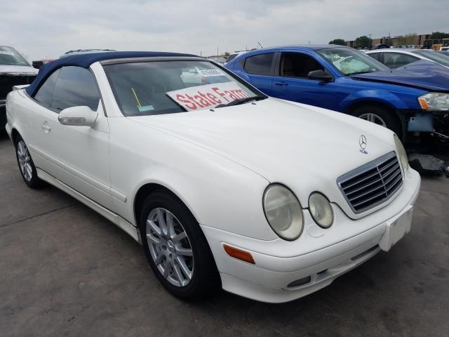 Salvage 2003 Mercedes-Benz CLK 320 for sale
