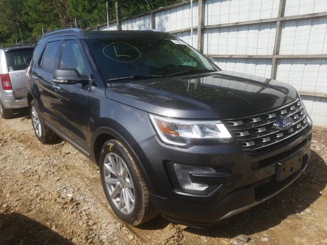 Ford Explorer L salvage cars for sale: 2017 Ford Explorer L