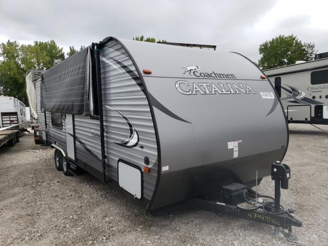 Coachmen Catalina salvage cars for sale: 2017 Coachmen Catalina