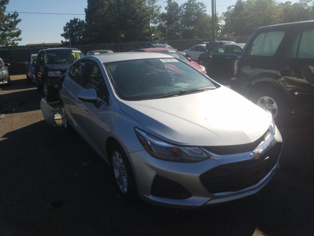 Salvage cars for sale from Copart Denver, CO: 2019 Chevrolet Cruze LT