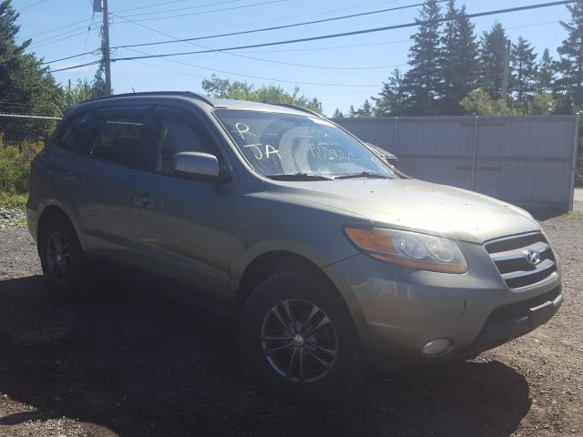 Salvage cars for sale from Copart Cow Bay, NS: 2009 Hyundai Santa FE S