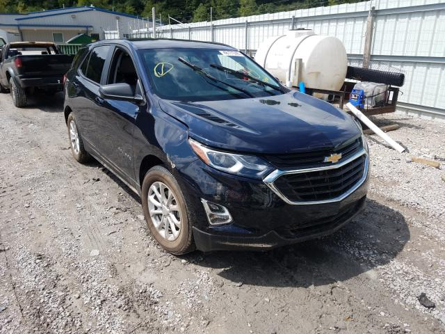 Salvage cars for sale from Copart Hurricane, WV: 2020 Chevrolet Equinox LS