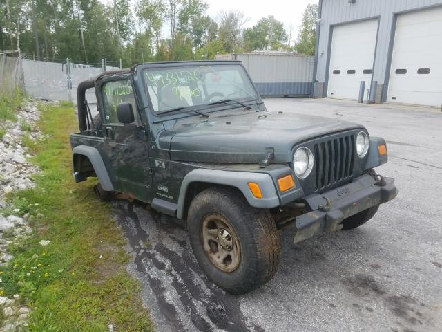 Jeep salvage cars for sale: 2004 Jeep Wrangler X
