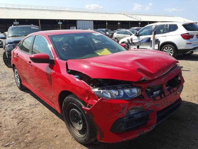 Salvage cars for sale from Copart Phoenix, AZ: 2018 Honda Civic LX