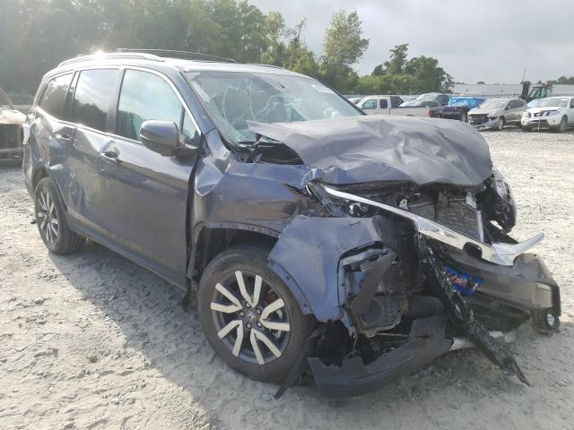Salvage cars for sale from Copart Tifton, GA: 2019 Honda Pilot EXL