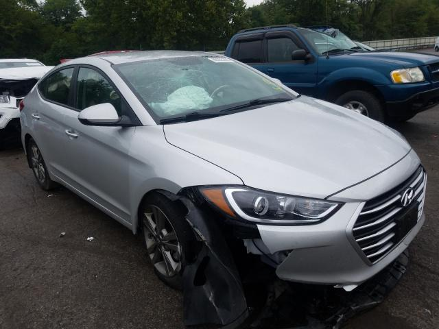Salvage cars for sale from Copart Ellwood City, PA: 2018 Hyundai Elantra SE