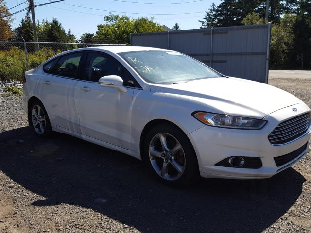 Salvage cars for sale from Copart Cow Bay, NS: 2013 Ford Fusion SE