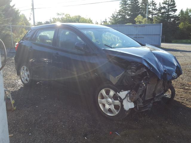 Salvage cars for sale from Copart Cow Bay, NS: 2009 Toyota Corolla MA