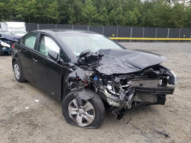 Vehiculos salvage en venta de Copart Waldorf, MD: 2017 KIA Forte LX