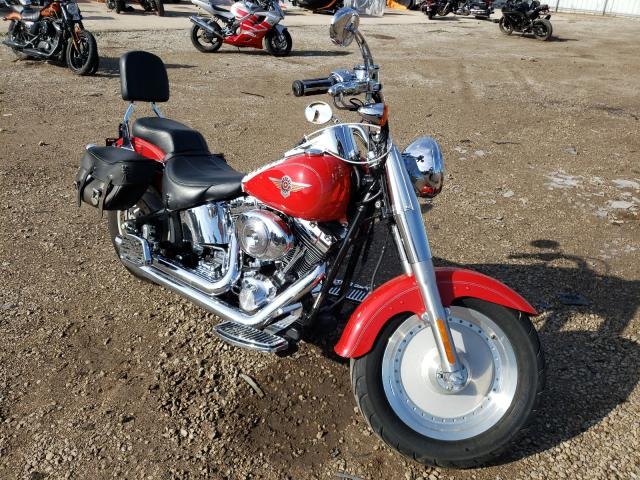 Salvage cars for sale from Copart Elgin, IL: 2002 Harley-Davidson Flstfi