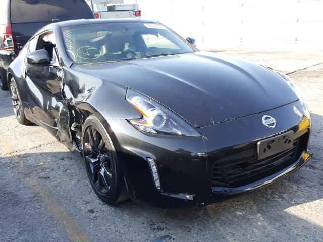Salvage cars for sale from Copart Wilmington, CA: 2018 Nissan 370Z Base