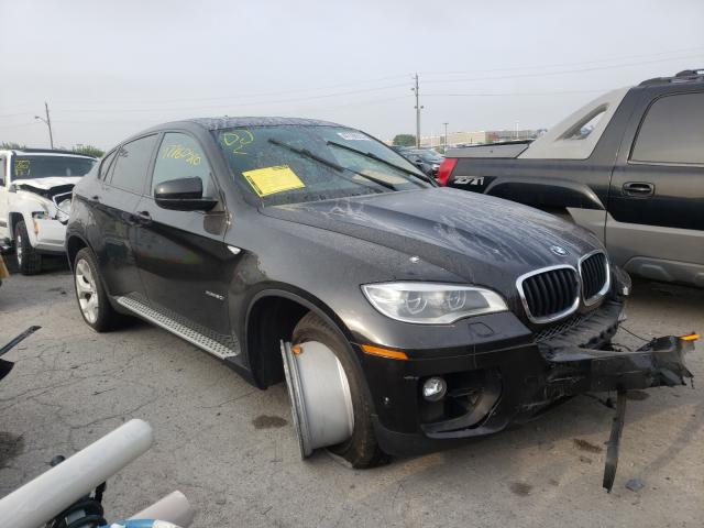 Salvage cars for sale from Copart Indianapolis, IN: 2014 BMW X6 XDRIVE5