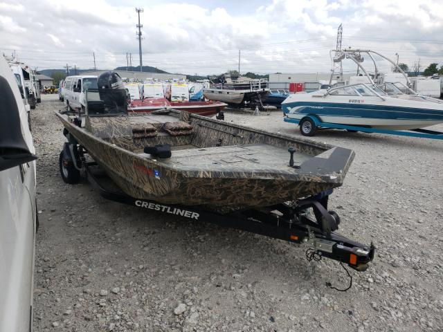 Crestliner Boat salvage cars for sale: 2014 Crestliner Boat