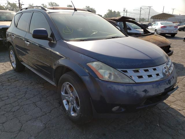 Nissan Murano SL salvage cars for sale: 2004 Nissan Murano SL