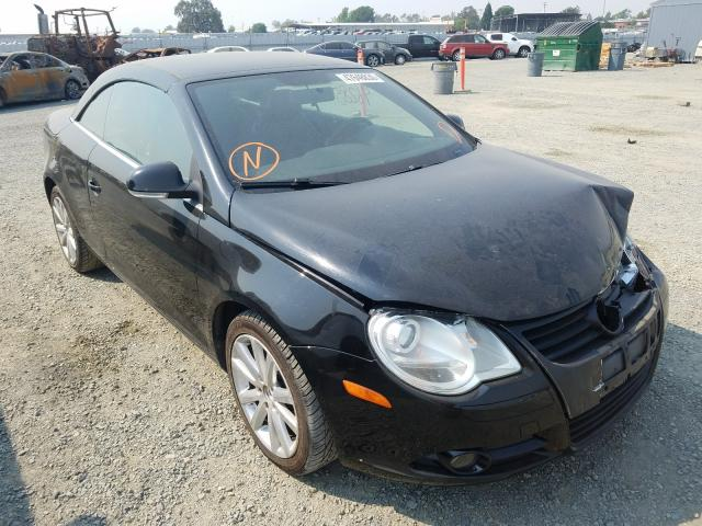 Volkswagen EOS Turbo salvage cars for sale: 2008 Volkswagen EOS Turbo