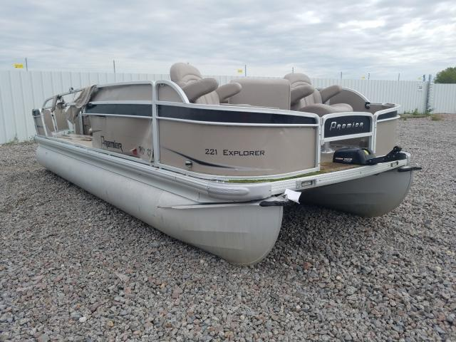 Salvage 2012 Premier BOAT for sale