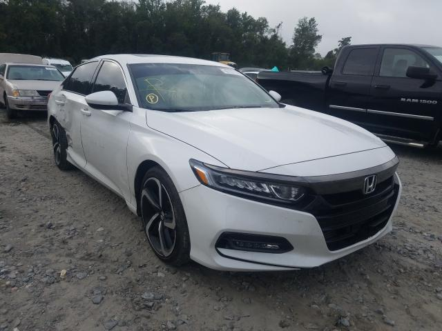 Honda Accord Sport salvage cars for sale: 2019 Honda Accord Sport