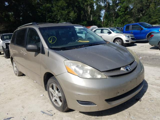 Salvage cars for sale from Copart Ocala, FL: 2006 Toyota Sienna CE