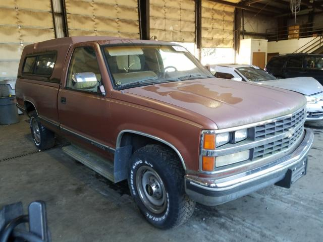 Chevrolet GMT-400 C3 salvage cars for sale: 1989 Chevrolet GMT-400 C3