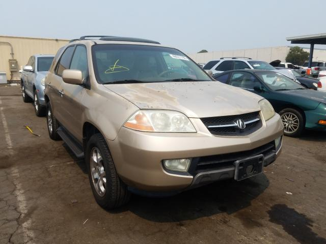 Salvage cars for sale from Copart Hayward, CA: 2002 Acura MDX Touring