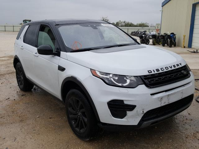 Salvage cars for sale from Copart San Antonio, TX: 2018 Land Rover Discovery